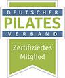 Zertifiziertes Mitglied im Deutschen Pilates Verband